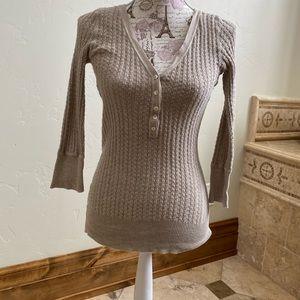 Light weight beige sweater